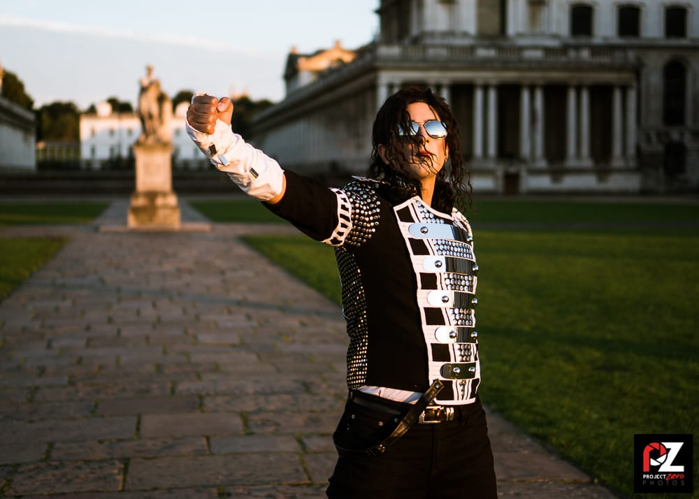 Michael Jackson makeup artist look - women's lifestyle blog UK - The Style of Laura Jane