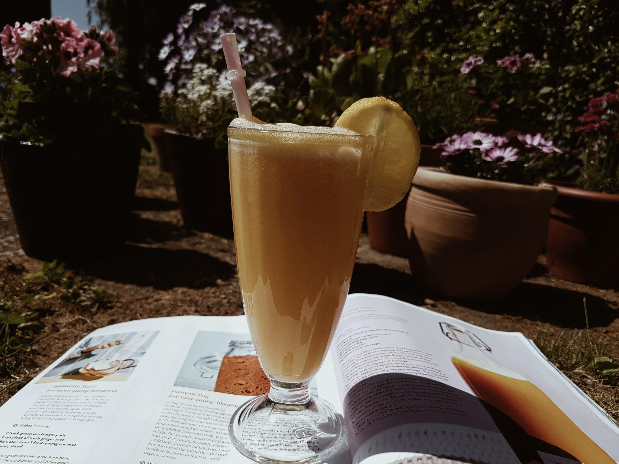 sugar-free drinks orange smoothie