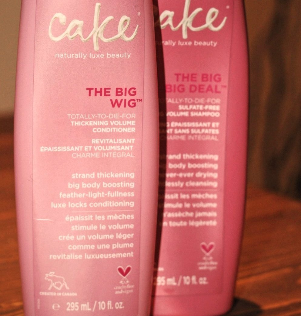 Image of Cake volume shampoo and conditioner for vegan cruelty free beauty products - The Style of Laura Jane